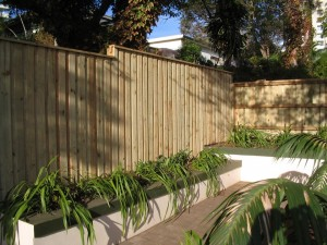 Lapped & capped Fencing