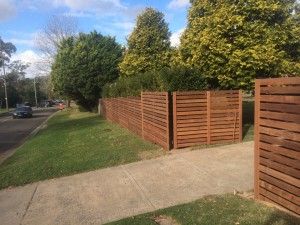 frenches forrest hardwood slat gates